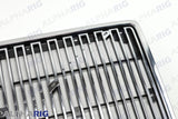 VOLVO VN FRONT GRILLE 1996-2003 CHROME/BLACK w/BUGSCREEN