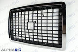 VOLVO VN FRONT GRILLE 2004+ CHROME/BLACK