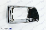 KENWORTH T300 FRONT HEAD LIGHT BEZEL RIGHT 1997-2008 CHROME