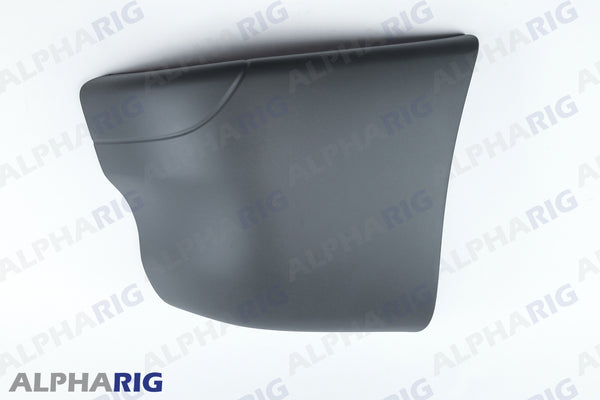 FREIGHTLINER COLUMBIA LEFT FRONT BUMPER END CAP 2002-2011 GRAY