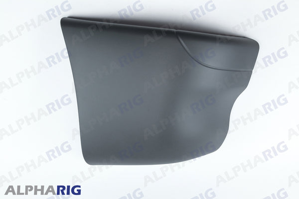 FREIGHTLINER COLUMBIA RIGHT FRONT BUMPER END CAP 2002-2011 GRAY