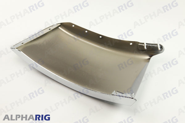 "FREIGHTLINER M2 106 RIGHT FRONT BUMPER END 29.92"" 2003-2007 CHROME"
