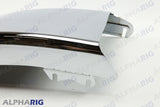 "FREIGHTLINER M2 106 LEFT FRONT BUMPER END 28.35"" 2008-2014 CHROME"