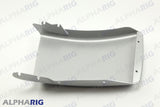 "FREIGHTLINER M2 106 RIGHT FRONT BUMPER END 24.80"" 2008-2014 SILVER"