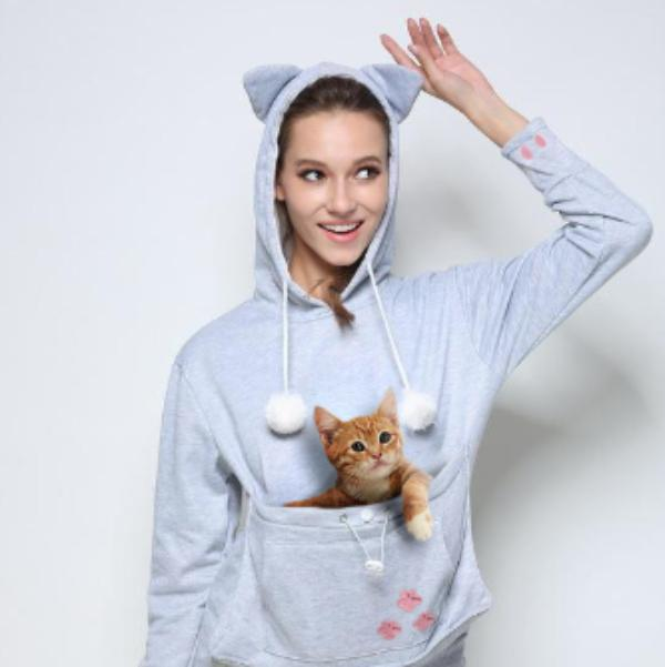 Cuddle Pouch Hoodie - Unrestory