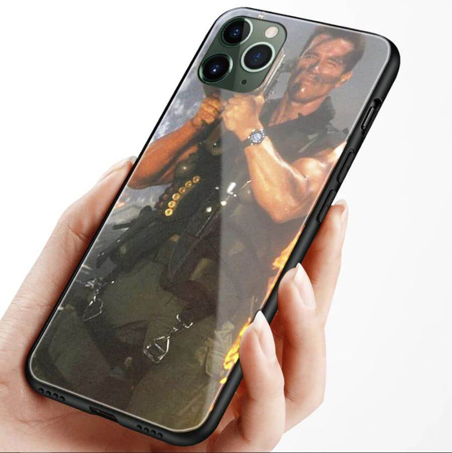 Unique Creative Glass Case for iPhone 11