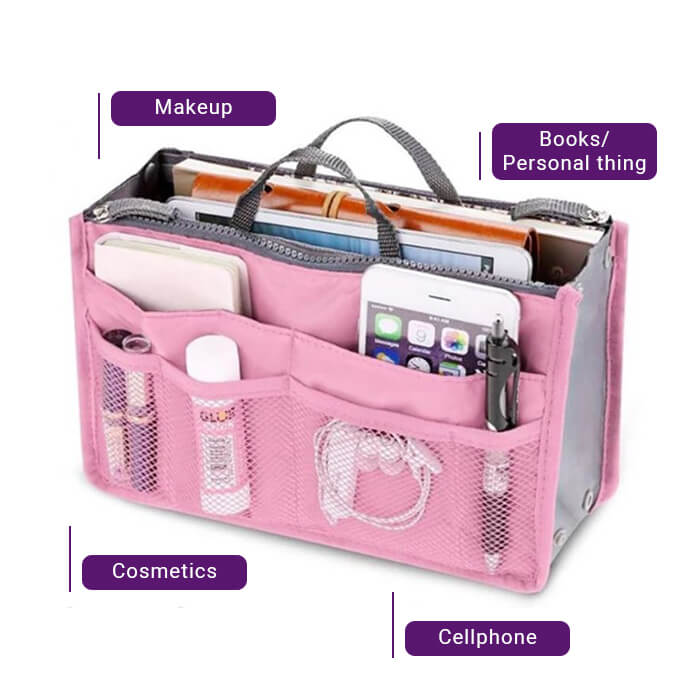 Lilly's Cosmetics Travel Bag - Pack Like a PRO