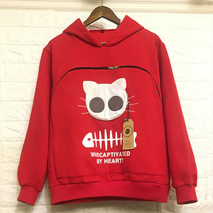 Cat Lovers Dream - Pocket Hoodie
