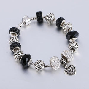 Heart Charm Bracelets - Unrestory