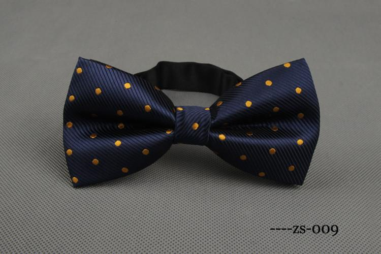 Men's Bow Tie Fashion Dot Tie Bowtie For Men Leisure Cravats Business Shirts Bowknot Bow Tie For Wedding - Unrestory