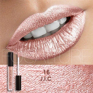 Rosalind Waterproof Matte Liquid Lipstick Moisturizer Smooth Lip Stick Long Lasting  Lip Gloss Cosmetic Beauty Makeup - Unrestory