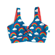 Rainbow Twist Front Bra