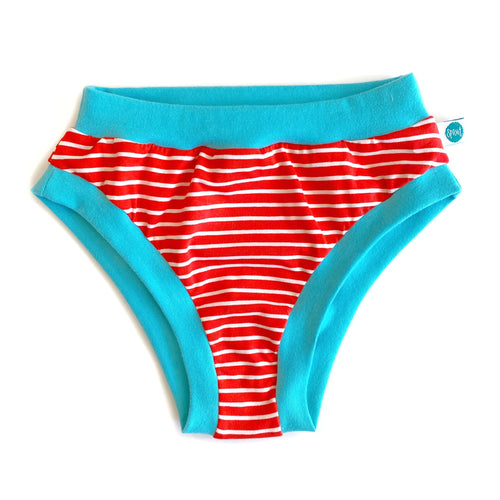 Red Stripe Ladies Pants