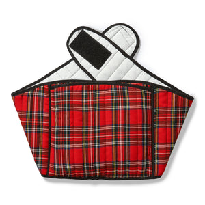Tartan Hottle Back Wrap - Red