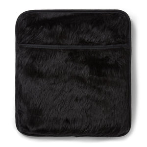 Faux Fur Hottle Personal Warmer back
