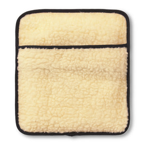 Lambswool Fleece Hottle Personal Warmer front