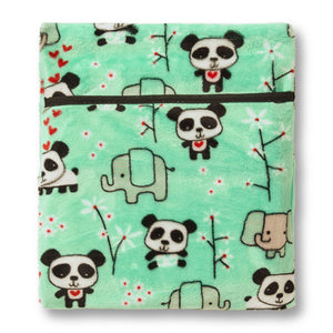 Panda & Pal Hottle Personal Warmer back