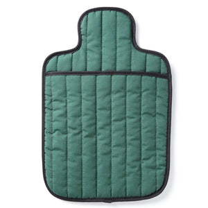 Quilted Cotton Bottle Hottle Personal Warmer - Emerald Green