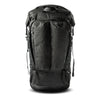 Front of ALPHA 31 roll top backpack in black X-PAC