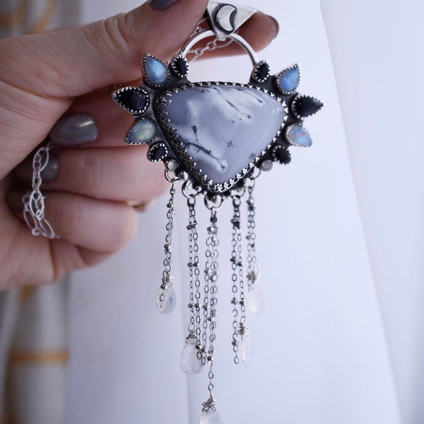 The Morning Snow Statement Pendant