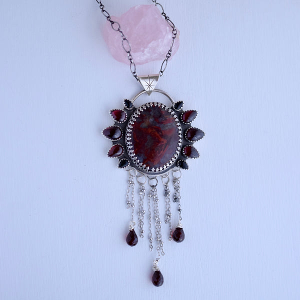 Mary's Blood Statement Pendant