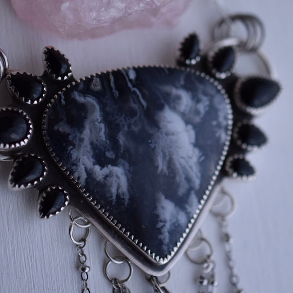 Ashes to Ashes Statement Pendant