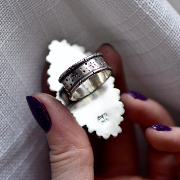 Hypersthene Statement Ring size 8.5