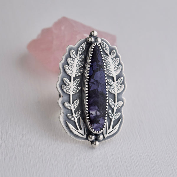 Midnight Lavender Ring size 7
