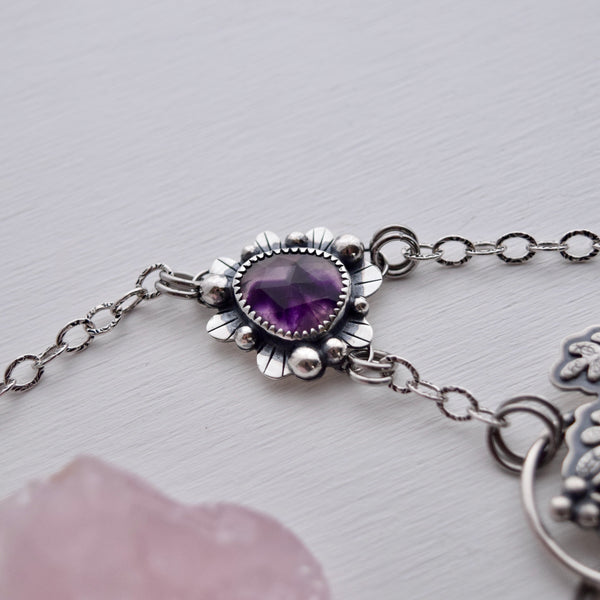 Royal Lavender Statement Pendant