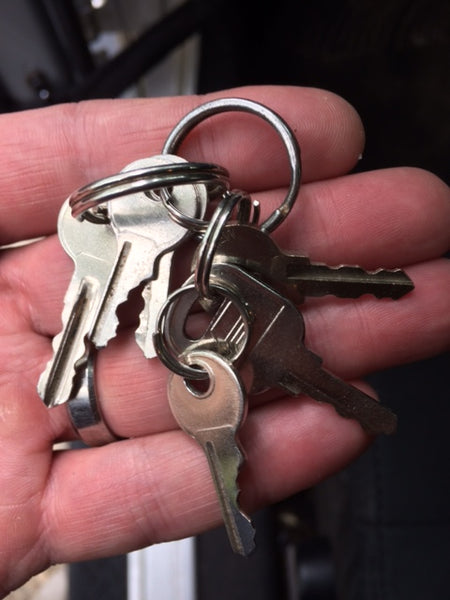 FOUND:  A set of keys