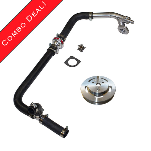 Coolant Reroute & 1.8L High-Volume Pulley Bundle