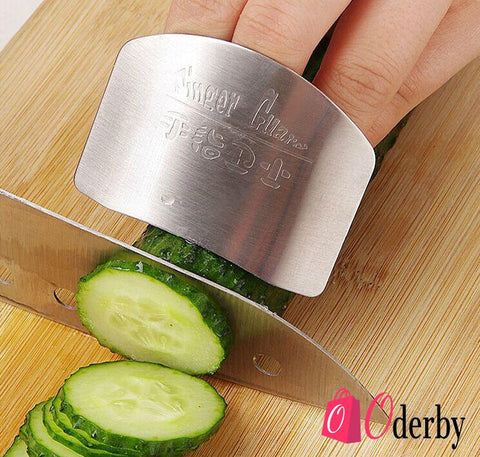 Stainless Steel Finger Hand Protector Kitchen Tool
