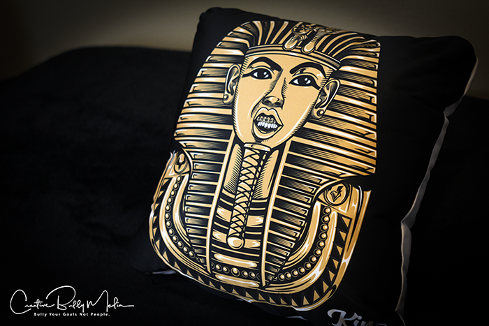 Emerge Gold Throw Pillows