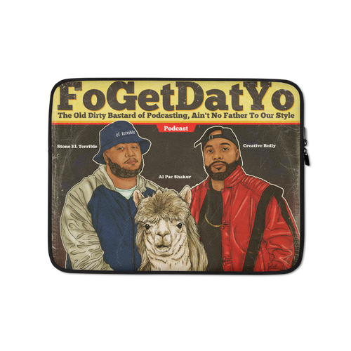 fogetdatyo Laptop Sleeve