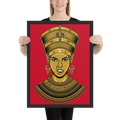 Nefertiti Framed poster