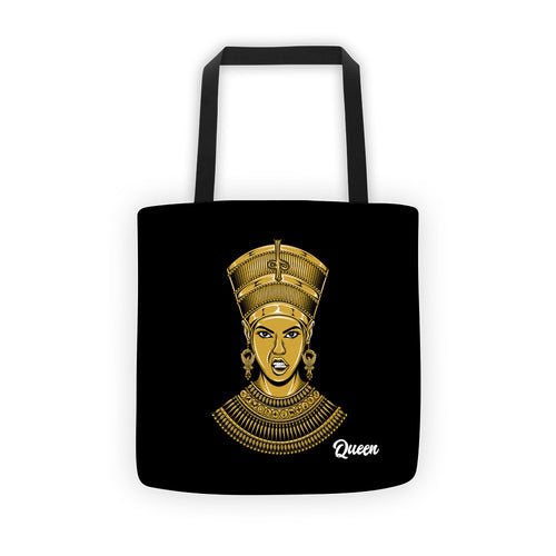 Queen Tote bag Black
