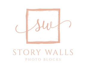 Story Walls | Wooden photo blocks