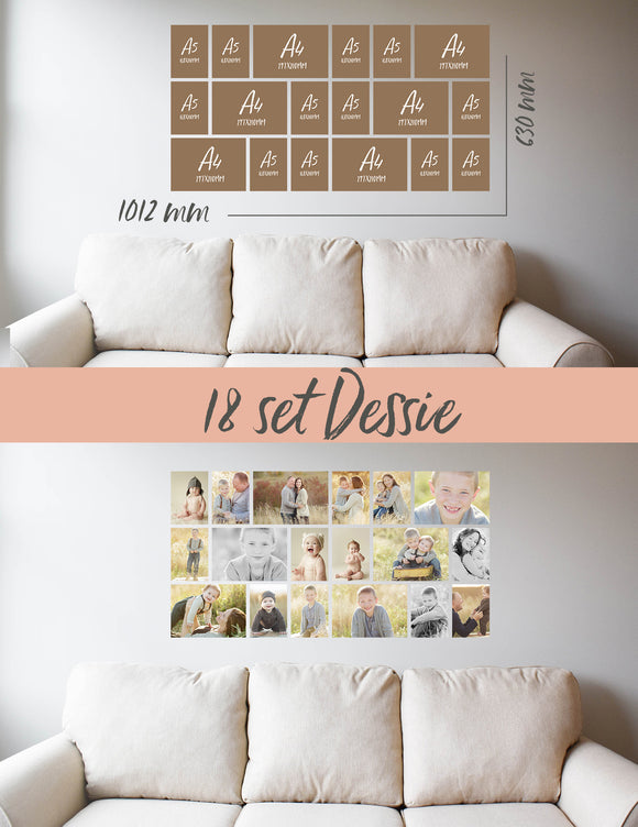 Story Wall Collage | Dessie | 18 Set