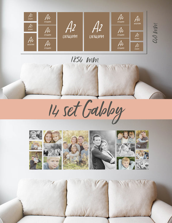 Story Wall Collage | Gabby| 14 Set