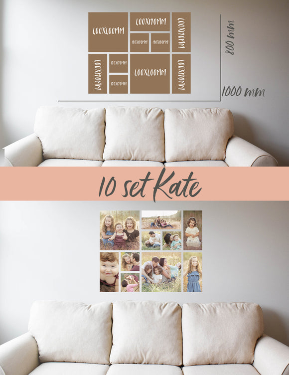 Story Wall Collage | 10 Set | Kate Set