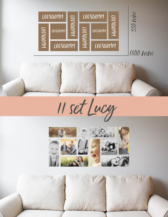 Story Wall Collage | 10 Set | Lucy Set