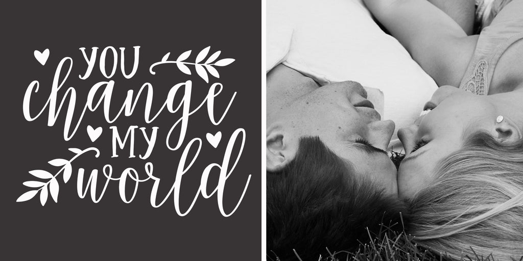 200x400 | LOVE | You change my world