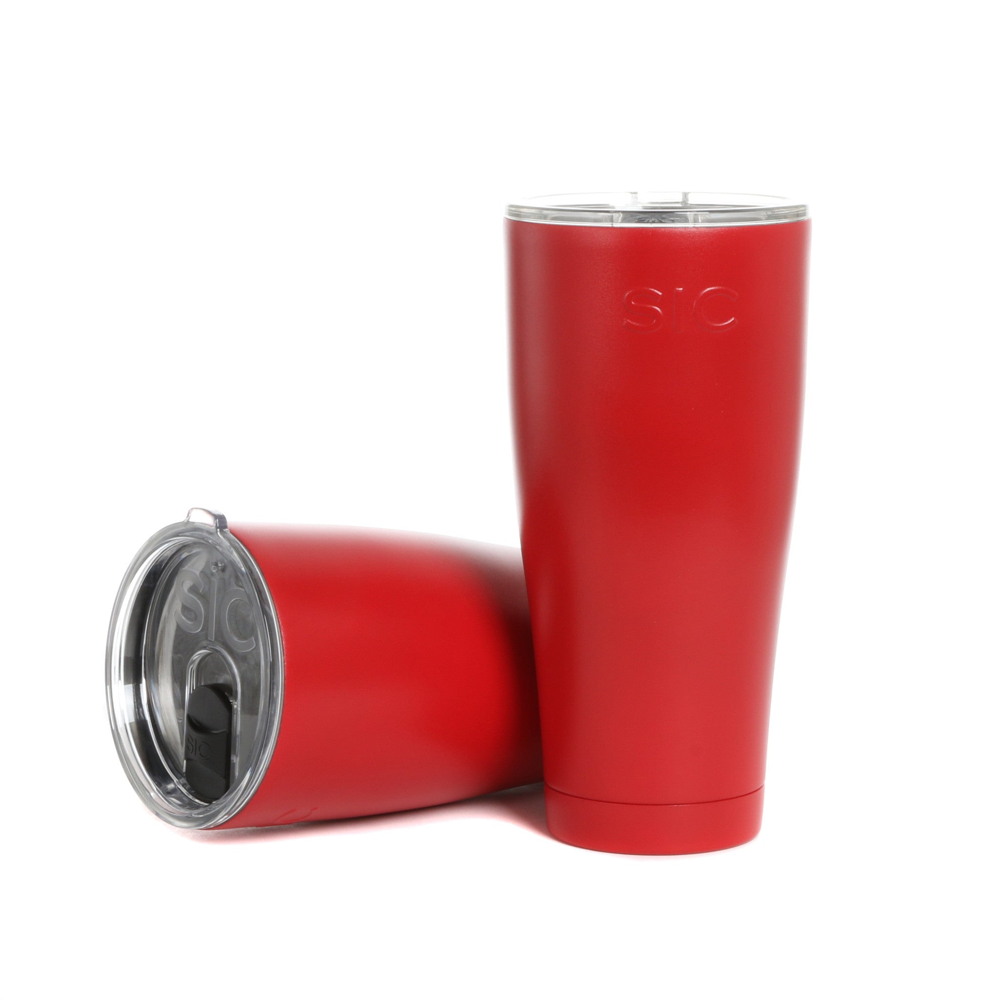 30 Oz. Matte Gameday Red SIC Tumbler