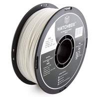 ***   WHITE   *** HATCHBOX 3D ABS-1KG1.75-WHT ABS 3D Printer Filament, Dimensional Accuracy +/- 0.05 mm, 1 kg Spool, 1.75 mm, White