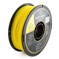 ***   YELLOW   *** HATCHBOX 3D ABS-1KG1.75-YLW ABS 3D Printer Filament, Dimensional Accuracy +/- 0.05 mm, 1 kg Spool, 1.75 mm, Yellow