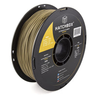 ***   BRONZE   *** HATCHBOX 3D ABS-1KG1.75-BRNZ ABS 3D Printer Filament, Dimensional Accuracy +/- 0.05 mm, 1 kg Spool, 1.75 mm, Bronze