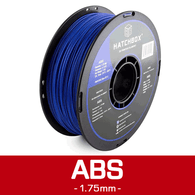 —BLUE— HATCHBOX 3D ABS-1KG1.75-BLU ABS 3D Printer Filament, 1 kg Spool, 1.75 mm
