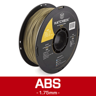 —BRONZE— HATCHBOX 3D ABS-1KG1.75-BRNZ ABS 3D Printer Filament, 1 kg Spool, 1.75 mm