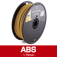 —GOLD— HATCHBOX 3D ABS-1KG1.75-GLD ABS 3D Printer Filament, 1 kg Spool, 1.75 mm