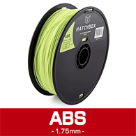 —PASTEL GREEN— HATCHBOX 3D ABS-1KG1.75-365C ABS 3D Printer Filament, 1 kg Spool, 1.75 mm